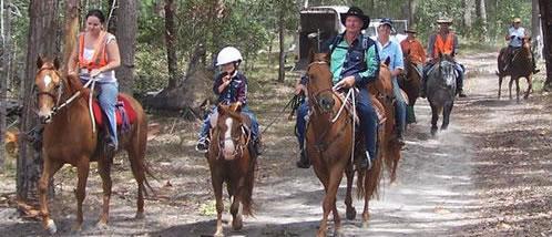 Giddee Up Horse Trail Rides