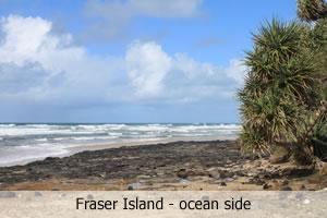 Ocean outlook at Fraser Island