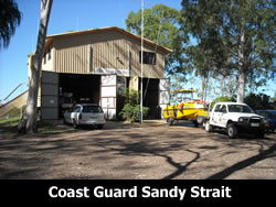 Coast Guard Sandy Strait