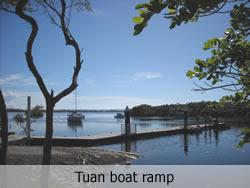 Tuan boat ramp