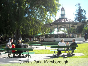 Queens Park, Maryborough