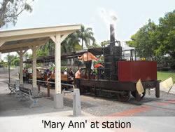 Mary Ann Steam Train