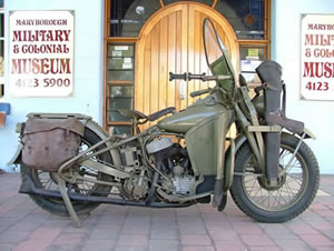 Harley Davidson WLA-45 Solo Motorcycle