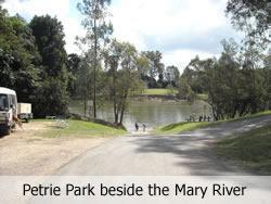 Petrie Park on the Mary River