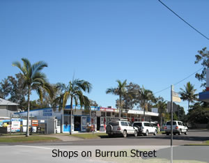Shops on Burrum Street